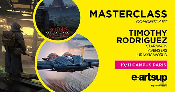 Masterclass : e-artsup invite Timothy Rodriguez