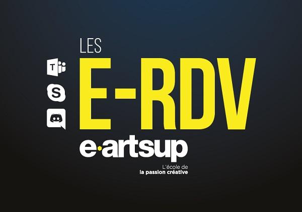 e-artsup lance les E-RDV et les LIVES pendant le confinement