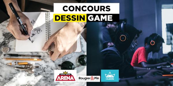 Concours jeux vidéo et dessin d'e-artsup Strasbourg pour les lycéens