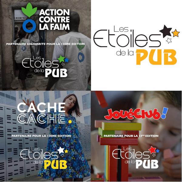 Johanna Gascoin et Nicolas Lepage (e-artsup promo 2021), lauréats des Etoiles de la Pub!