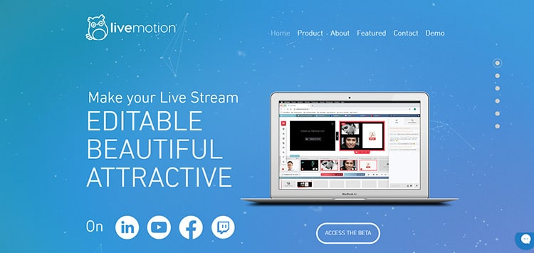 Start-up Livemotion.io
