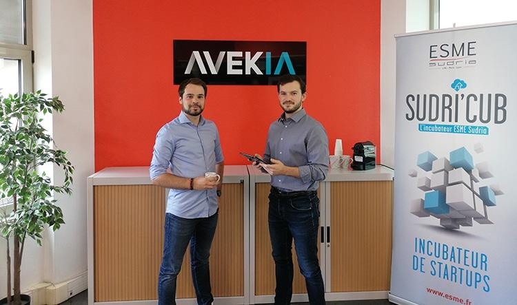 Avec AvekIA, Pierre Lazarz et Aymeric Laugel (ESME Sudria promo 2020) font de l'IA l'alliée des entreprises