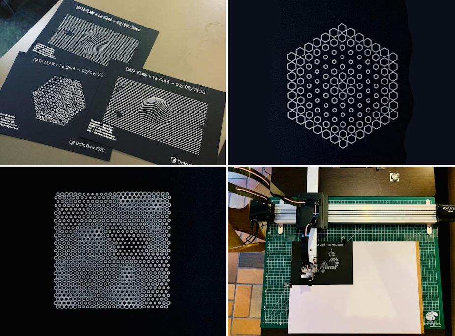 Responsable de l'e-Smart Lab et du Parcours Innovation à l'ESME Sudria Paris, Romain Astouric est aussi un artiste numérique connu sous le nom de Data Flaw.
