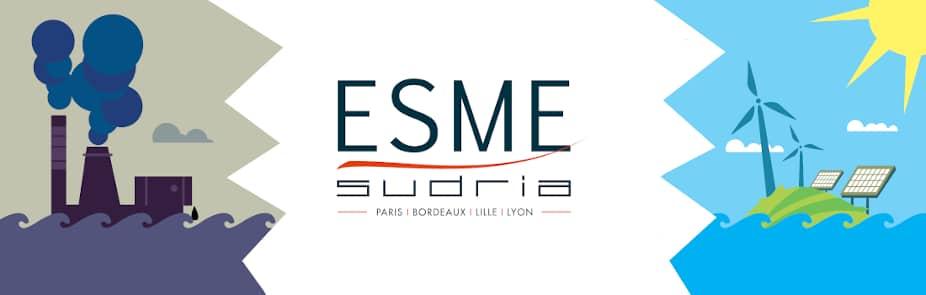 À partir de la rentrée 2021, le campus lillois de l'ESME Sudria ouvrira son Cycle ingénieur en apprentissage dans la Majeure Management de la transition énergétique.
