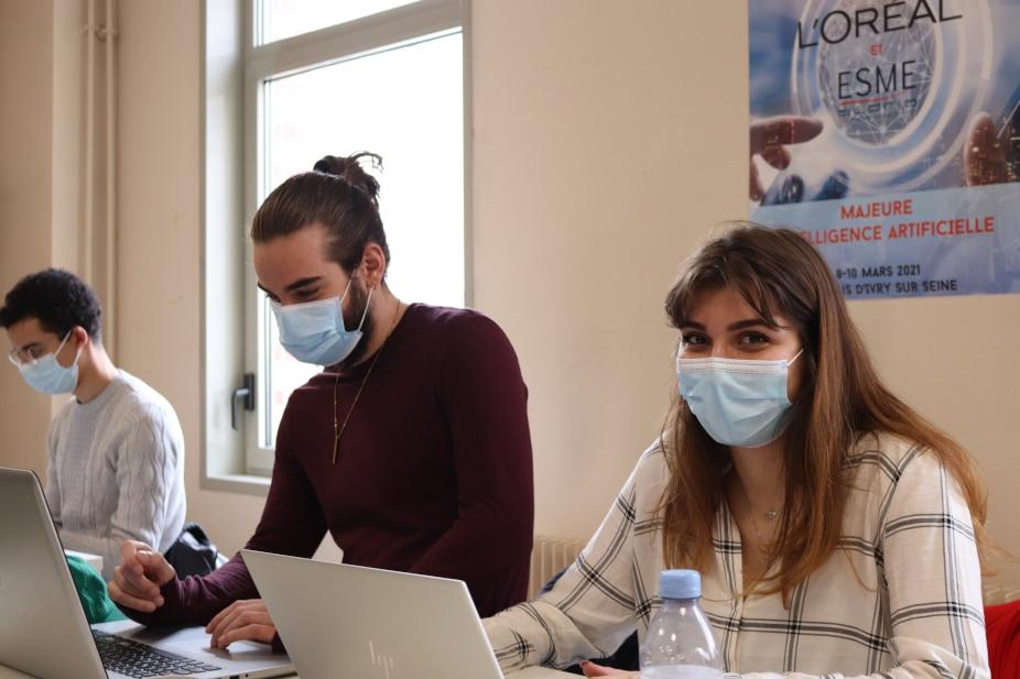 Intelligence artificielle: quand L'Oréal met au défi les étudiants de l'ESME Sudria