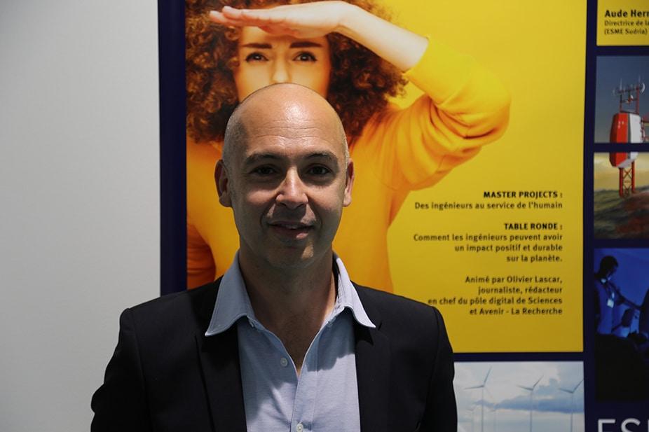 Olivier Lascar (ESME Sudria promo 1999), rédacteur en chef du pôle digital de Sciences et Avenir – La Recherche : « L'esprit d'analyse de l'ingénieur sert beaucoup quand on est journaliste»