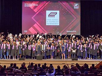 La promotion 2016 de Ionis-STM prête à «construire le monde de demain»