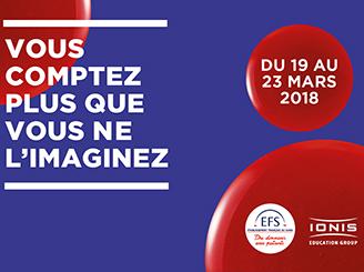 Du lundi 19 au vendredi 23 mars 2018, Ionis-STM participe au Printemps du Sang