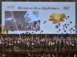 La promotion 2017 de Ionis-STM célébrée au Palais des Congrès !