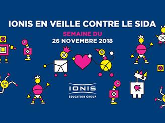 Ionis-STM et le Groupe IONIS en veille contre le sida