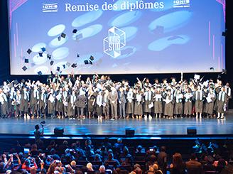 Remise des titres: la promotion 2018 de Ionis-STM célébrée au Palais des Congrès!