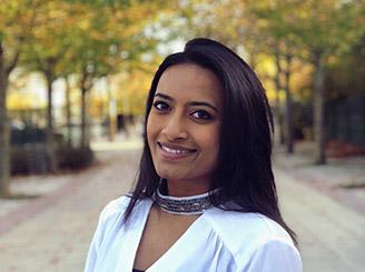 Focus sur Vithusa Vimalarajah (Ionis-STM promo 2021), danseuse, modèle et comédienne