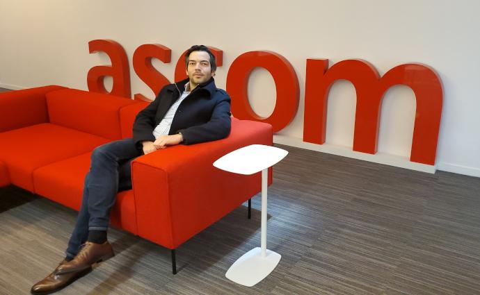 Olivier Camuset (Ionis-STM promo 2014), directeur des opérations et des services chez Ascom France : « La logique Ionis-STM, certains l'ont et d'autres pas »