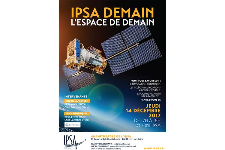 Affiche IPSA Demain - L'Espace de demain