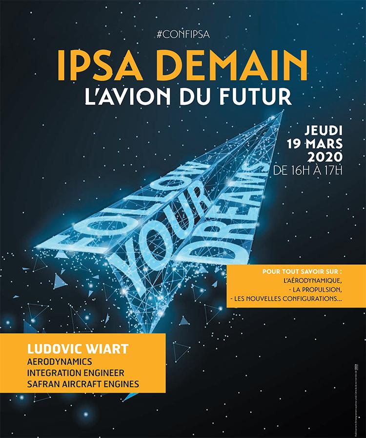 Conférence IPSA Demain, l'avion du futur