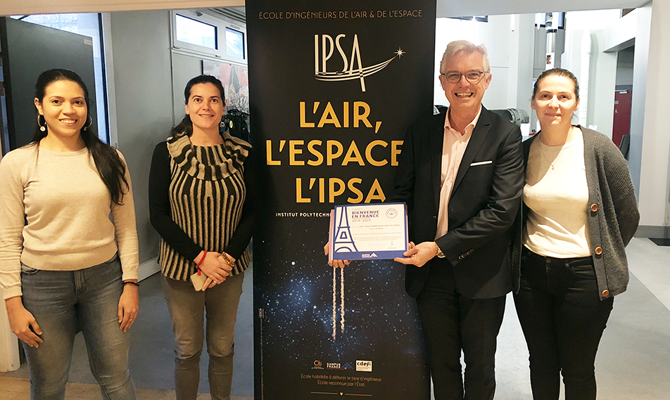 International : l'IPSA obtient le Label « Bienvenue en France »
