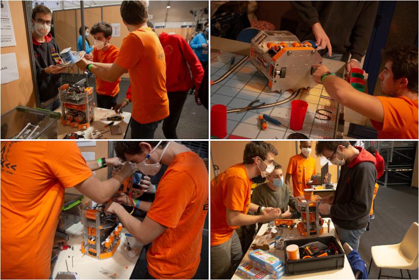 Coupe de France de Robotique 2020: l'association Evolutek obtient la 5e place!