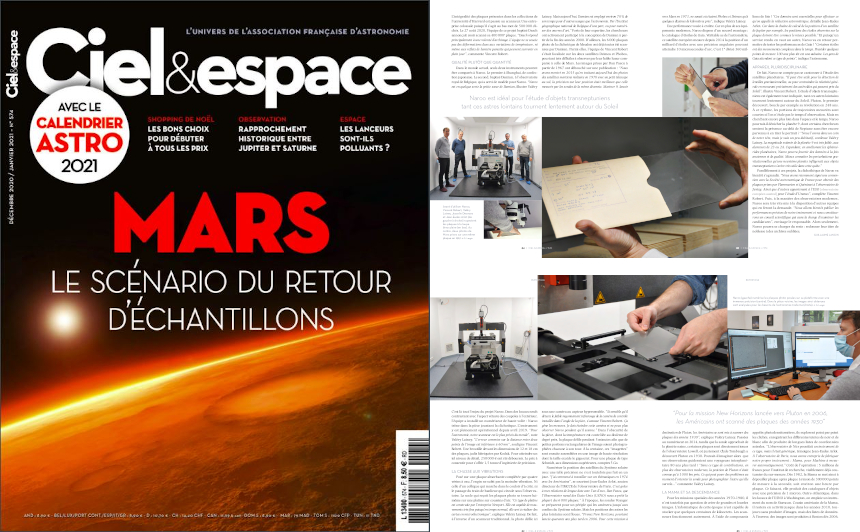 Quand Ciel & Espace s'intéresse au projet Naroo de Vincent Robert, enseignant-chercheur à l'IPSA