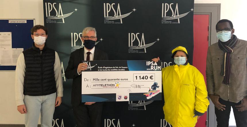 Téléthon : mission accomplie pour la première édition de l'IPSA RUN !
