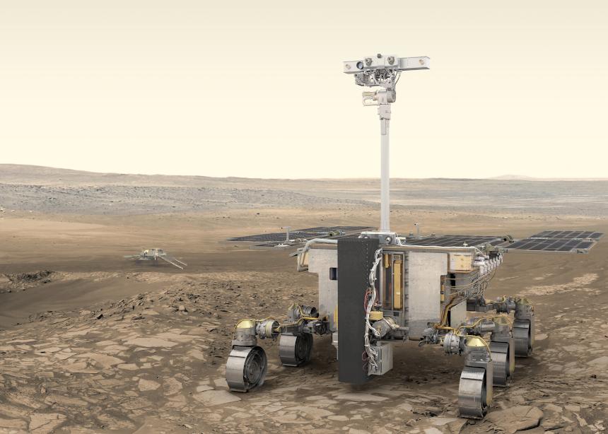 Partez à la conquête de la planète rouge avec la mission ExoMars et l'IPSA, ce jeudi 6 mai 2021