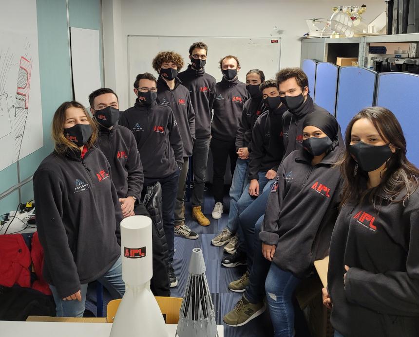PERSEUS, CNES, projet Viserion de moteur-fusée à ergols liquides... L'association étudiante Innovative Propulsion Lab (IPL) de l'IPSA poursuit son ascension