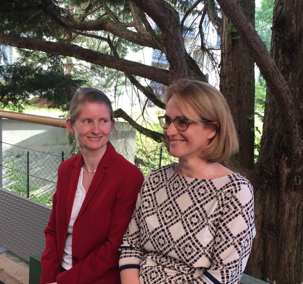 Catherine Baghdiguian Hoffmann et Édith Protière, Dircetrice ISG Lyon