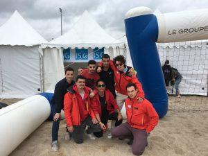 De gauche à droite, Flavien Bouchand, Tugdual Guillouche, Adam Achir, Vorak Bong, Toni Criseo, Dimitri Giraud et Edouard Bornes.