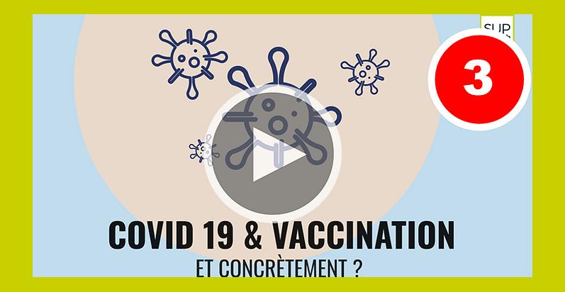 Devenez incollable sur les vaccins et la Covid-19 avec les étudiants de Sup'Biotech!