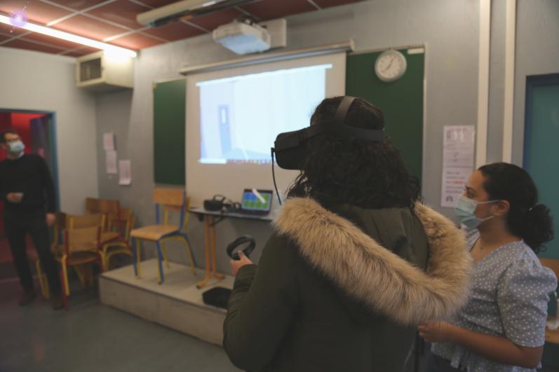 Jumeaux numériques, réalité virtuelle… les étudiants de Sup'Biotech à l'assaut de l'usine 4.0!